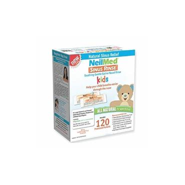 Neilmed Sinus Rinse Premixed Sachets Paediatric Nasal Irrigation 120 Sachets