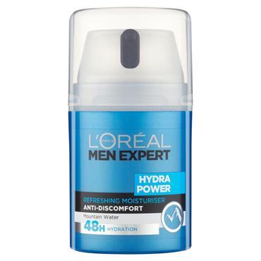 Loreal Men Expert Hydra Power Refreshing Moisturiser 50Ml