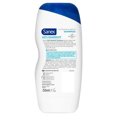 Sanex Nourishing And Gentle Shampoo 250Ml