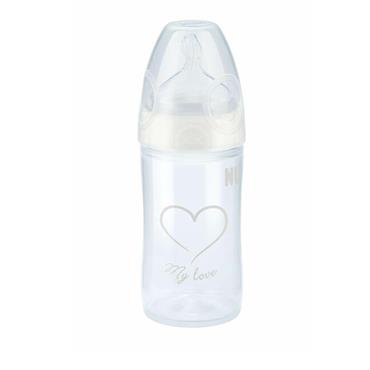 Nuk First Choice Plus Bottle Silicone Teat Size 2 Medium 250Ml