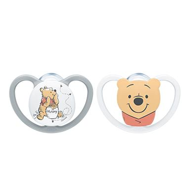 Nuk Winnie The Pooh  Space Soother Size 2