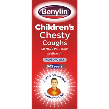 Benylin Child Chesty Non Dowsey 125Ml