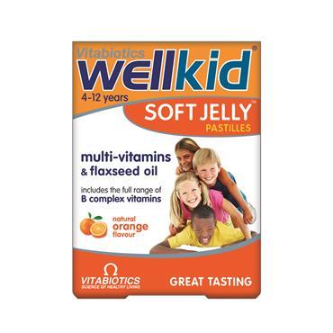 Vitabiotics Wellkid Soft Jelly Orange 30 tablets