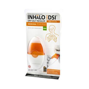 Inhalo Dry Salt Inhaler Bronchial Descongestion And Allergy Relief