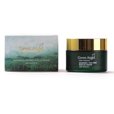 Green Angel Seaweed & Tea Tree Rescue Cream With Vitamin E 50Ml