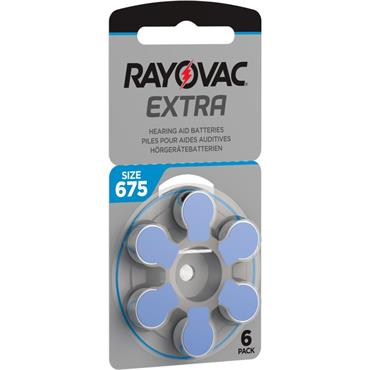 Rayovac Extra hearing Aid batteries 672 size pack