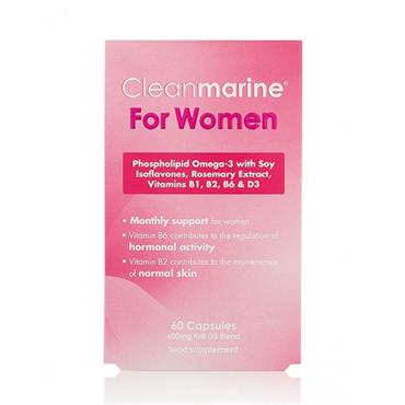 Cleanmarine Krill Oil Women 60C 500Mg
