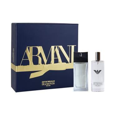 Armani Diamonds Eau de Toilette 50ml Christmas Gift Set for him