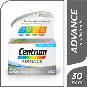 Centrum Advance Multivitamin 30 Pack