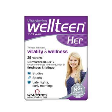 Vitabiotics Wellteen Her Original 30 tablets