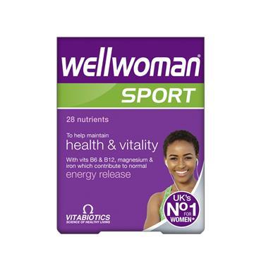 Vitabiotics Wellwoman Sport 30 tablets
