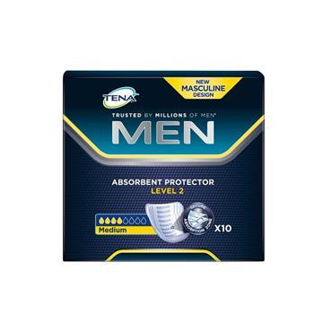 Tena Men Level 2 Pads Medium 10