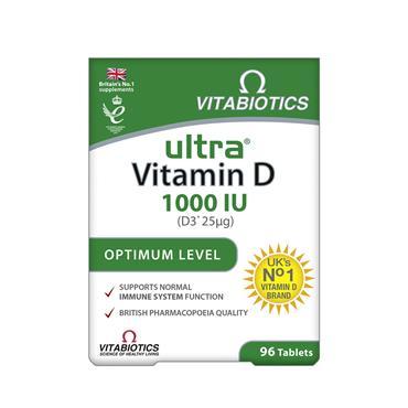 Vitabiotics Ultra D3 Vit 25Ug 96S