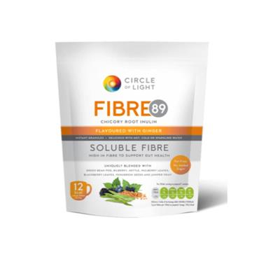 Circle Of Light Fibre 89 Flavoured With Ginger 200G