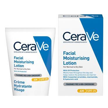 Cerave Spf Moisturizer Cream - Cerave Moisturiser 52Ml
