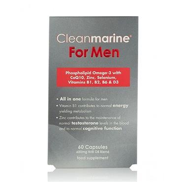 Cleanmarine Krill Oil  Men 60C 500Mg