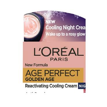 Loreal Paris Age Perfect Golden Age Night Cream 50Ml