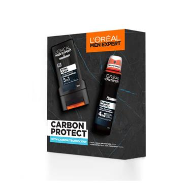 Loreal Carbon Power Clean & Protect Set