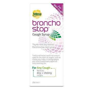 Buttercup Bronchostop Cough Syrup 200Ml