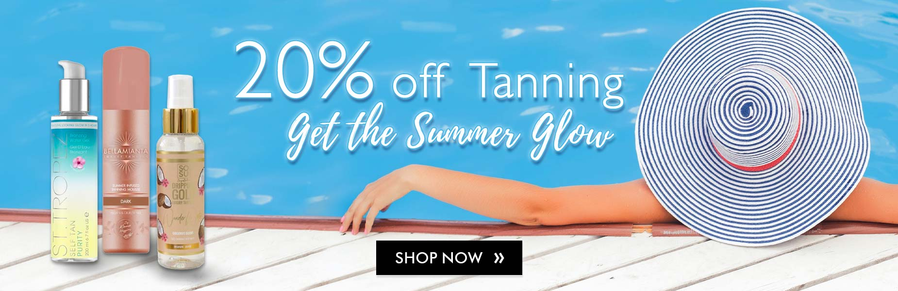 20% Off All Tanning