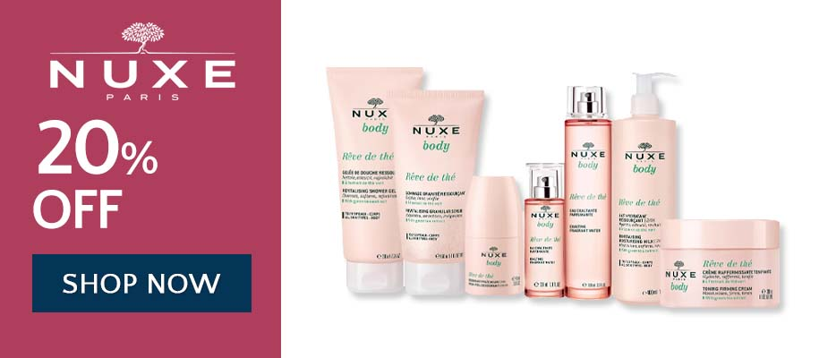 20% off Nuxe - Shop Now