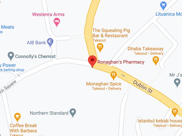 Ronaghan's Pharmacy 5 The Diamond Monaghan Town