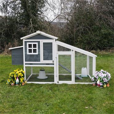The Amy Chicken Coop With Run