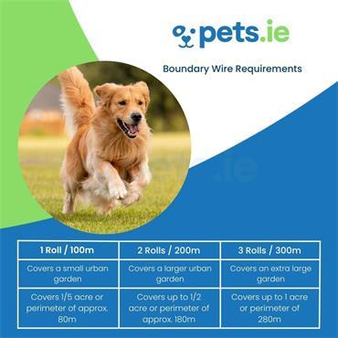 Dog Fence Boundary Wire - 100m