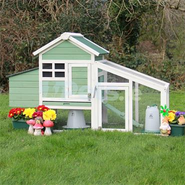 The Holly Chicken Coop With Run