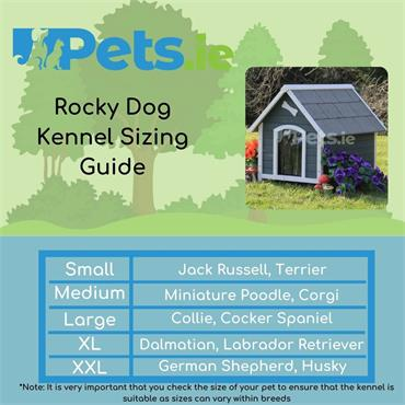 Rocky Dog Kennel - Large