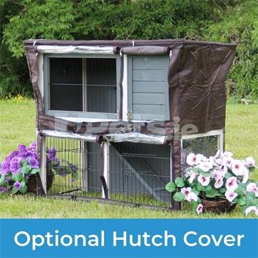 Willow Rabbit And Guinea Pig Hutch