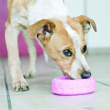 Puppy Tyre Pink Puppy Toy