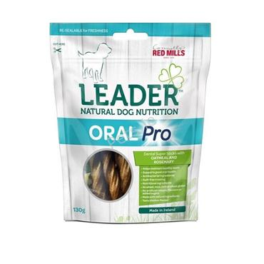 Leader - Oral Pro Dental Sticks - Oatmeal & Rosemary