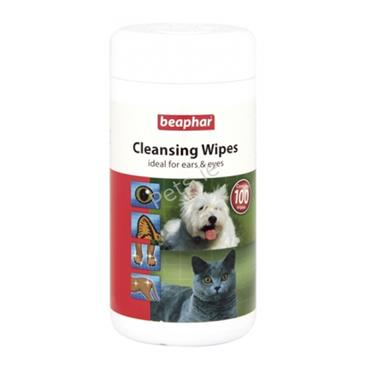 Cleansing Wipes Ears and Eyes - 100 Pack