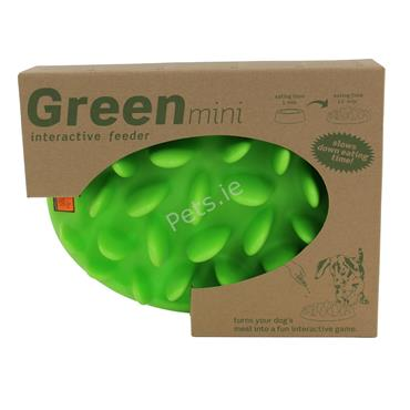 Green Mini Interactive Slow Dog Feeder