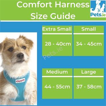 Comfort Mesh Dog Harness Blue