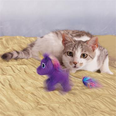 Enchanted Buzzy Unicorn - Cat Toy