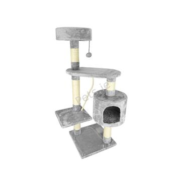 Lincoln Cat Scratch Tree Gym Grey