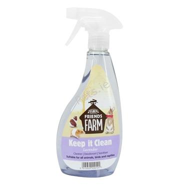 Small Animal Keep It Clean Lavender