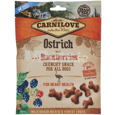 Carnilove Crunchy Treat - Ostrich With Blackberries