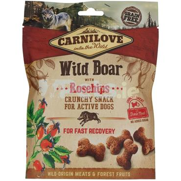 Carnilove Crunchy Treat - Wild Boar With Rosehips