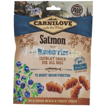 Carnilove Crunchy Treat - Salmon With Blueberry