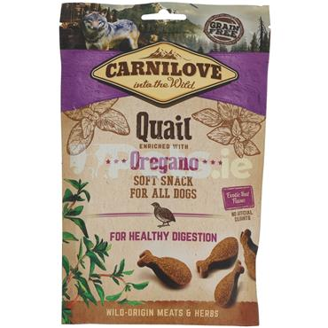 Carnilove Soft Treat - Quail With Oregano