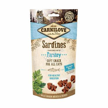 Carnilove Cat Treats - Sardines With Parsley