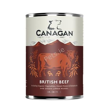 Canagan Dog Tin - British Beef