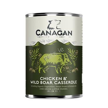 Canagan Dog Tin - Chicken & Wild Boar Casserole