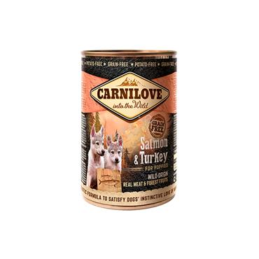 Carnilove Puppy - Salmon & Turkey - Tin