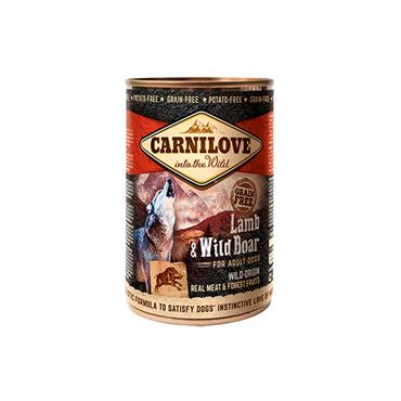 Carnilove Dog - Lamb & Wild Boar - Tin