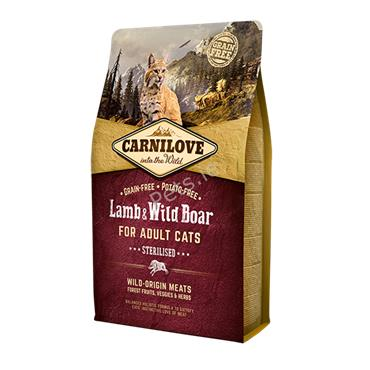 Carnilove Cat - Lamb & Wild Boar - Sterilised