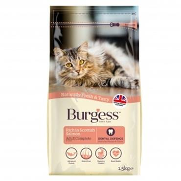 Burgess - Adult Cat - Scottish Salmon - 1.5kg